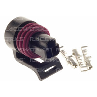 Plug and Pins Only - Delphi 3 Pin Pressure Sensor Connector