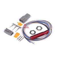 """Red"" Single Channel Hall Effect Sensor M12x1.0"