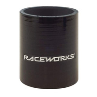 Raceworks Silicone Hose Straight x 75mm Long